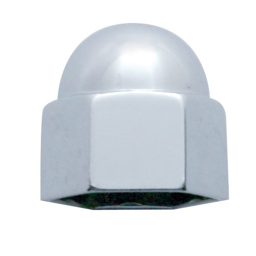 "(BULK) CHROME ZINC 3/4"" x 15/16"" ACORN NUT COVER"