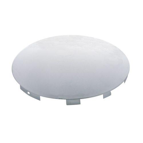 """(BULK) CHROME UNIVERSAL DOME FRONT HUB CAP - 7/16"""" LIP"""