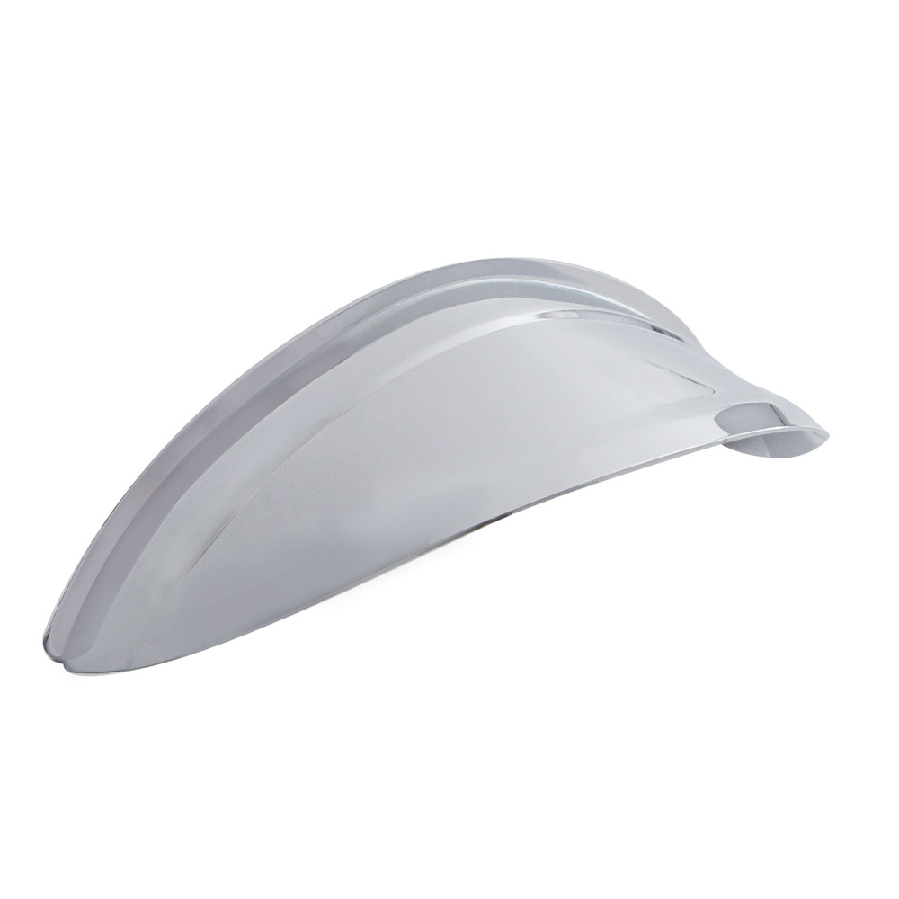 "(BULK) CHROME 7"" ROUND HEADLIGHT VISOR"