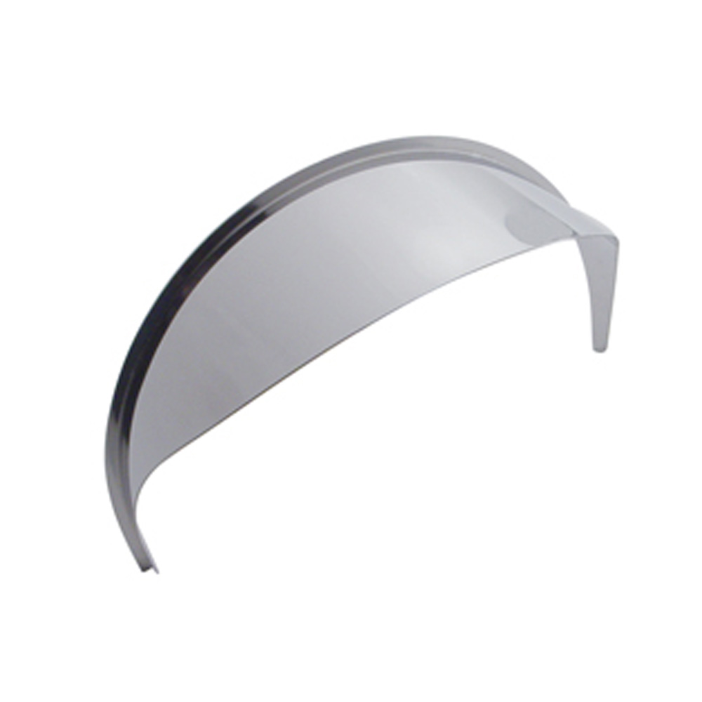 "(BULK) STAINLESS STEEL 7"" ROUND HEADLIGHT VISOR"