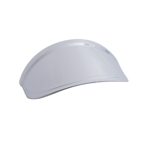 "(BULK) STAINLESS STEEL 2 1/2"" LIGHT VISOR"