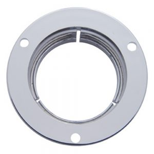 "(CARD) CHROME PLASTIC 2"" MOUNTING BEZEL"
