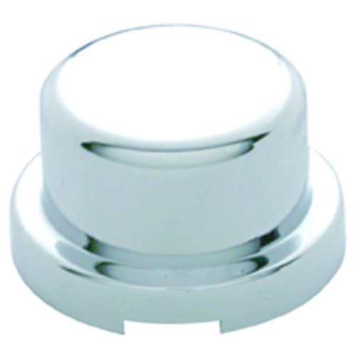 "(10/PACK) CHROME PLASTIC 3/4"" x 5/8"" FLAT TOP NUT COVER"