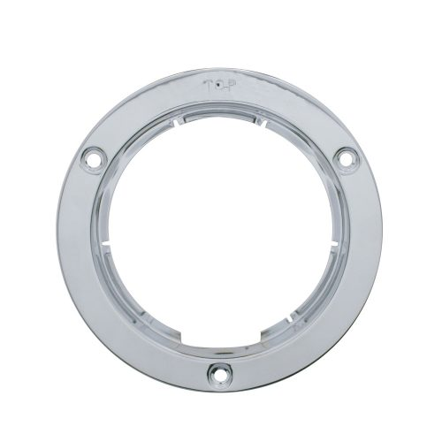 "(CARD) 4"" STAINLESS MOUNTING BEZEL"