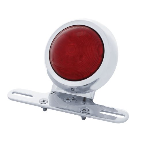 "(BOX) ""1950 PONTIAC STYLE"" RED LED FENDER LIGHT - RED LENS"