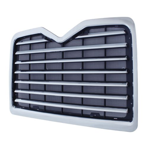 (BOX) CHROME PLASTIC MACK CX GRILL WITH BUG SCREEN