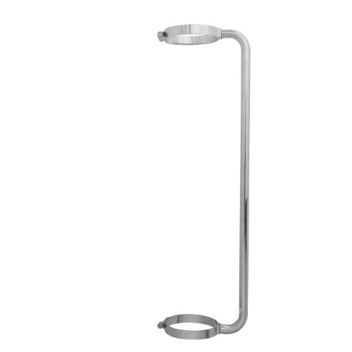 """(BOX) CHROME 34"""" EXHAUST GRAB HANDLE FOR 6"""" EXHAUST"""