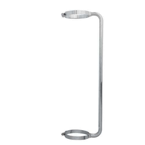 """(BOX) CHROME 34"""" EXHAUST GRAB HANDLE FOR 8"""" EXHAUST"""