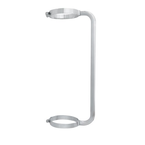 """(BOX) STAINLESS STEEL 24"""" EXHAUST GRAB HANDLE FOR 6"""" EXHAUST"""