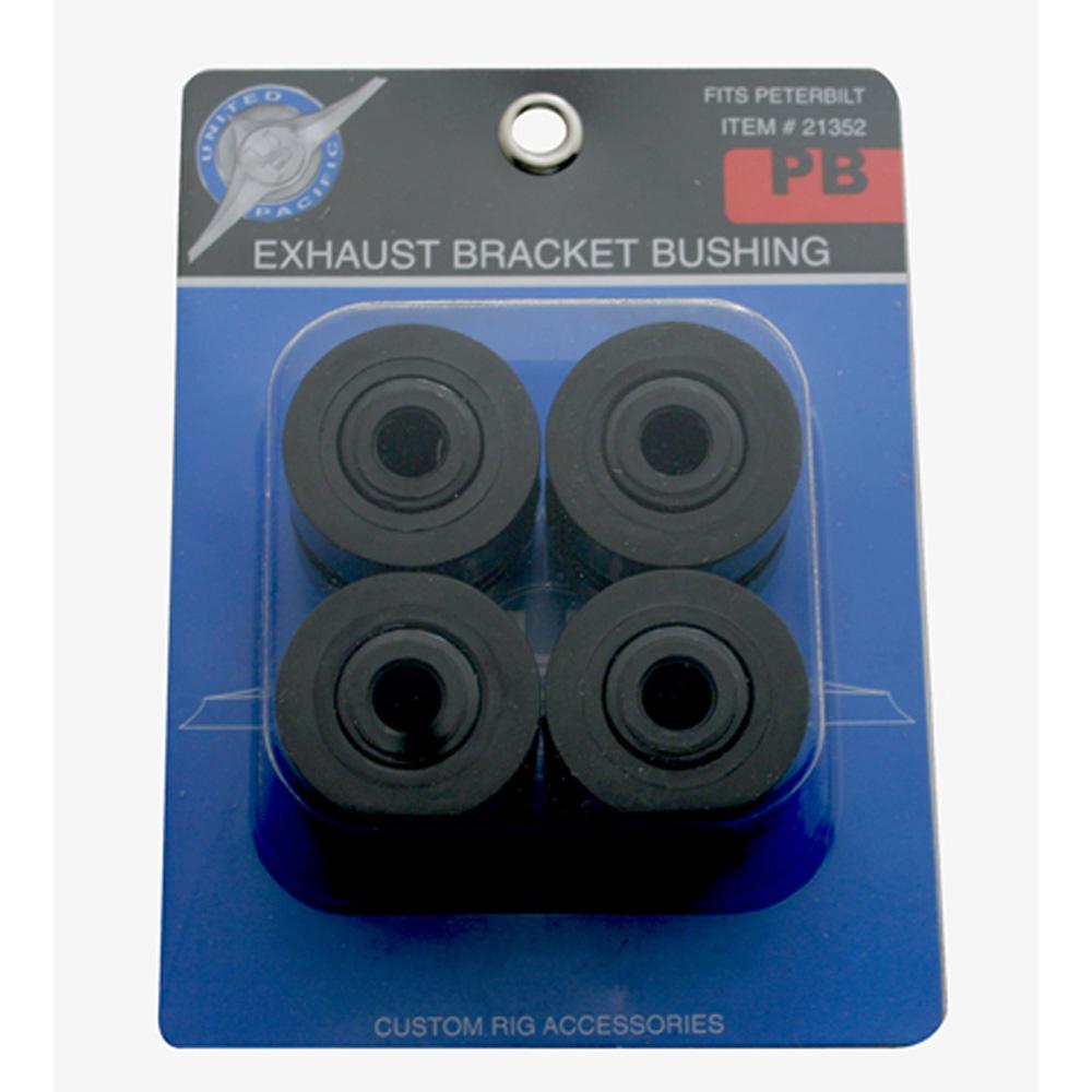 (4/CARD) POLYURENTHANE BRUSHING FOR PETERBILT EXHAUST BRACKET