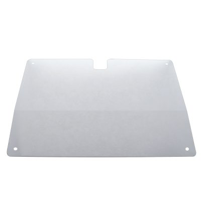 (SKPK) STAINLESS STEEL EARLY KENWORTH GLOVE BOX COVER