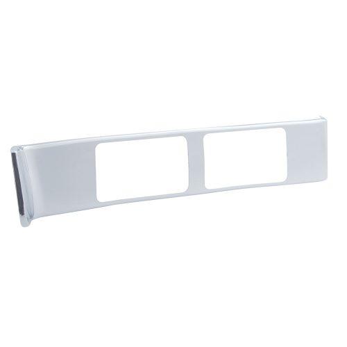 (SKPK) CHROME PLASTIC PETERBILT PASSENGER A/C VENT TRIM