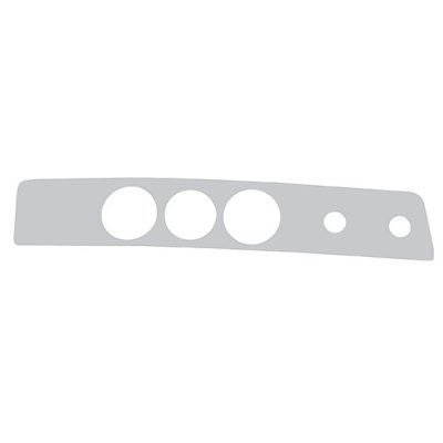 (SKPK) STAINLESS STEEL 2006+ KENWORTH A/C PANEL TRIM