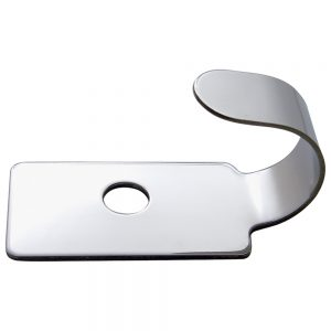 (SKPK) STAINLESS STEEL PETERBILT 379 PLAIN SWITCH GUARD