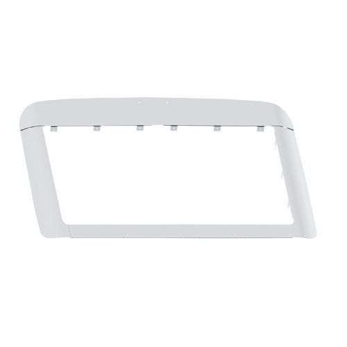(BOX) STAINLESS VOLVO 2003+ VN BUG AND GRILLE DEFLECTOR KIT