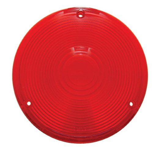 (BULK) PLASTIC TURN SIGNAL LENS - RED