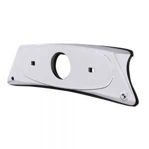 (BULK) CHROME RECTANGULAR FENDER LIGHT BRACKET