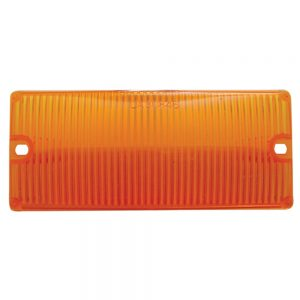 (BULK) DOOR LIGHT LENS - AMBER