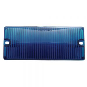 (BULK) DOOR LIGHT LENS - BLUE