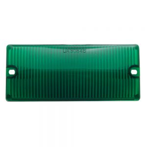 (BULK) DOOR LIGHT LENS - GREEN