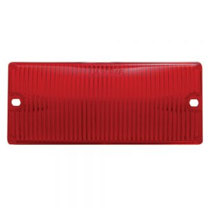 (BULK) DOOR LIGHT LENS - RED