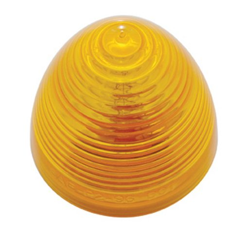"(BULK) 2"" INCANDESCENT BEEHIVE CLEARANCE/MARKER LIGHT - AMBER"