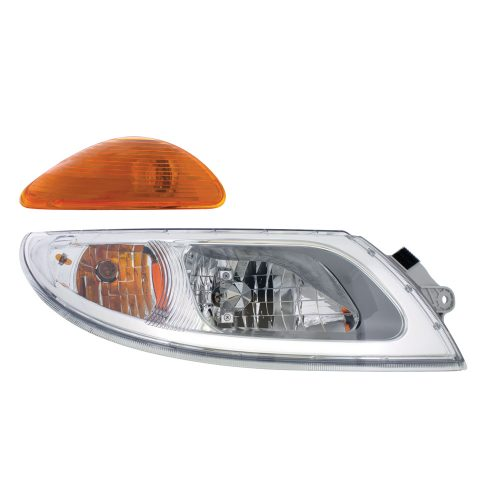 (BOX) INTERNATIONAL HEADLIGHT ASSEMBLY - 2003 AND NEWER - PASSENGER