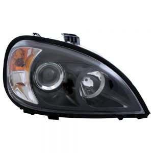 """(BOX) """"BLACKOUT"""" FREIGHTLINER COLUMBIA PROJECTION HEADLIGHT"""