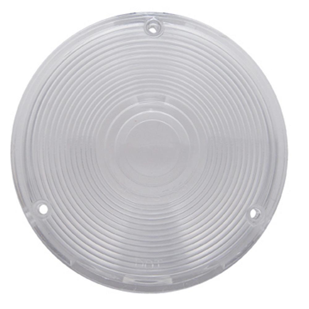 (BULK) PLASTIC TURN SIGNAL LENS - CLEAR