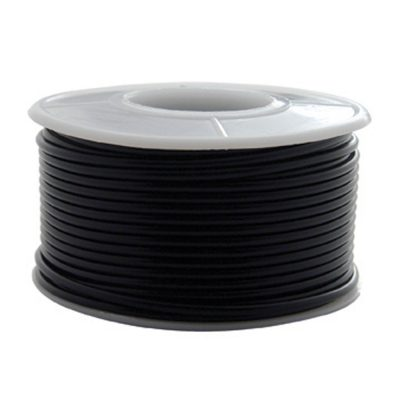 (ROLL) 16G 100' PRIMARY WIRE ROLL - BLACK