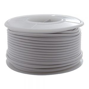 (ROLL) 16G 100' PRIMARY WIRE ROLL - WHITE