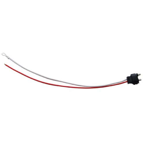 (BULK) 2 WIRE PLUG - RED (HOT) WIRE SNAPPED END
