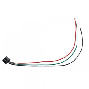 (CARD) 3 WIRE PIGTAIL FOR H4 BULBS