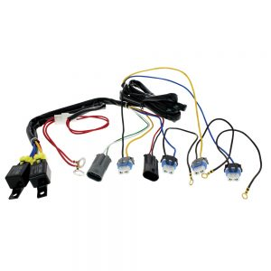(BOX) 9005/9006 HEADLIGHT RELAY HARNESS KIT