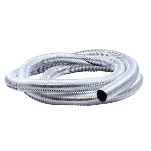 """(PACK) 72"""" CHROME PLASTIC WIRE LOOM - ¹ 3/4"""""""