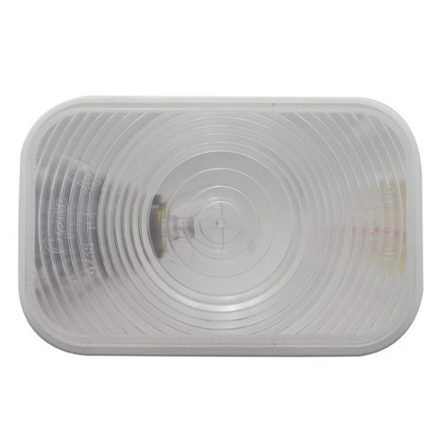 (BULK) INCANDESCENT RECTANGULAR BACK UP LIGHT - CLEAR