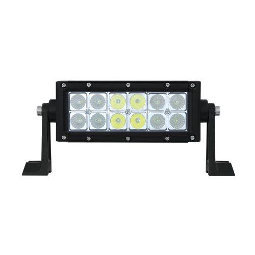 """(BOX) HIGH POWER LED DOUBLE ROW LIGHT BAR - 12 LEDS - 7 1/2"""""""