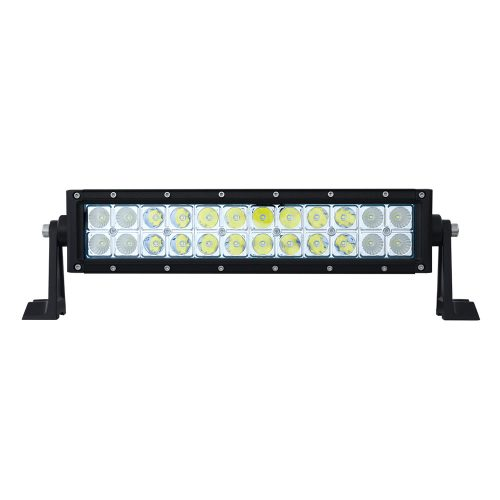 (BOX) HIGH POWER LED DOUBLE ROW LIGHT BAR - 24 LEDS - 13 1/2""