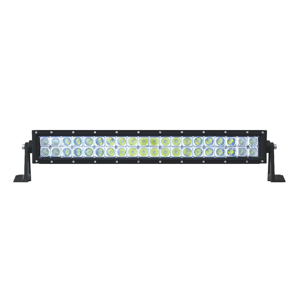 """(BOX) HIGH POWER LED DOUBLE ROW LIGHT BAR - 40 LEDS - 21 1/2"""""""