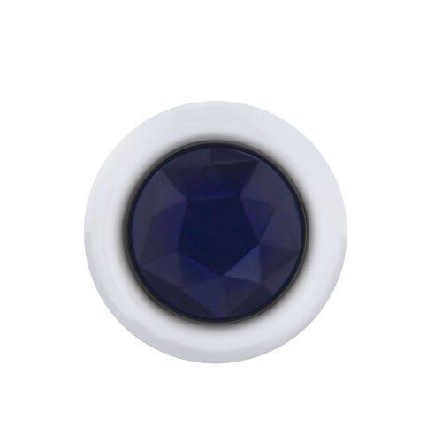 (CARD) 3 LED DUAL FUNCTION MINI DIAMOND LIGHT - BLUE LED/BLUE LENS