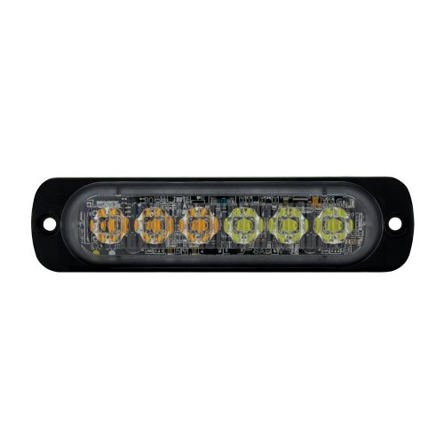(BOX) 6 HIGHT POWER LED DUAL COLOR WARNING LIGHT