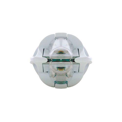 (CARD) 2 HIGHT POWER LED 1156 BULB - WHITE