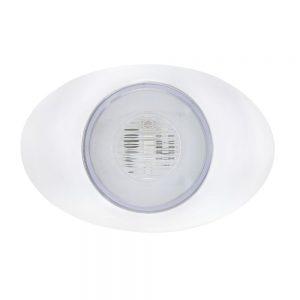 "(CARD) 5 LED ""M3 MILLENNIUM"" CLEARANCE/MARKER LIGHT - GLO LIGHT - AMBER LED/CLEAR LENS"