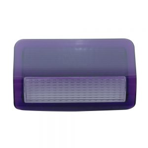 (BULK) 2006+ PETERBILT PASSENGER DOOR LIGHT LENS - PURPLE