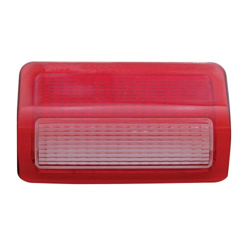 (BULK) 2006+ PETERBILT PASSENGER DOOR LIGHT LENS - RED