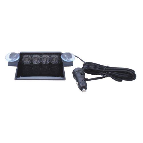 (BOX) 4 HIGH POWER LED 11V/30V DASH STROBE LIGHT - WHITE
