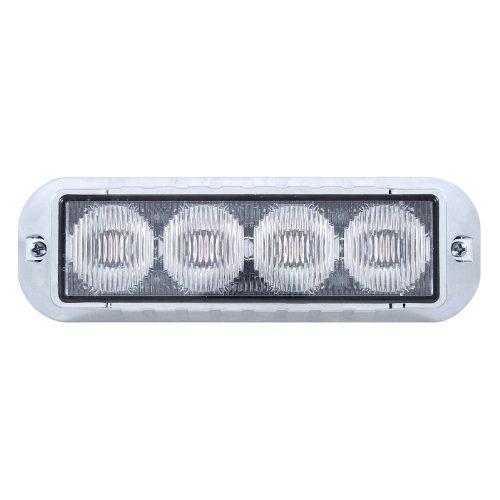 (BOX) 4 LED 12V/24V STROBE LIGHT - AMBER