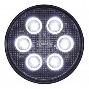 (BULK) 6 HIGH POWER 3 WATT LED PAR 36 LIGHT - 12V/24V APPLICATION