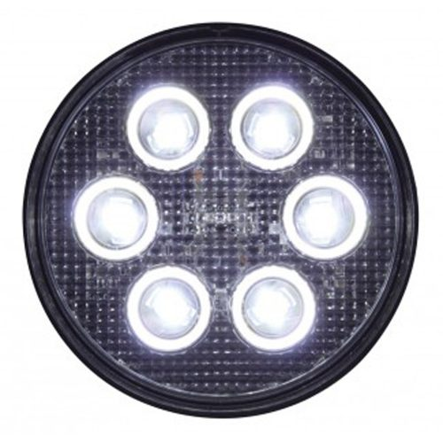 (BULK) 6 HIGH POWER 3 WATT LED PAR 36 LIGHT - 12V/24V APPLICATION