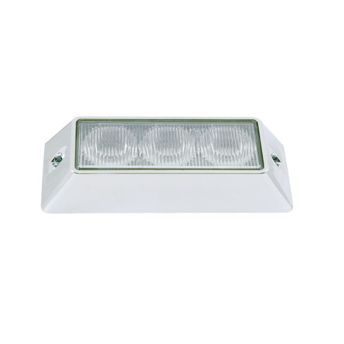(CBOX) 3 LED 12V/24V STROBE LIGHT - BLUE (12 FLASH PATTERN)